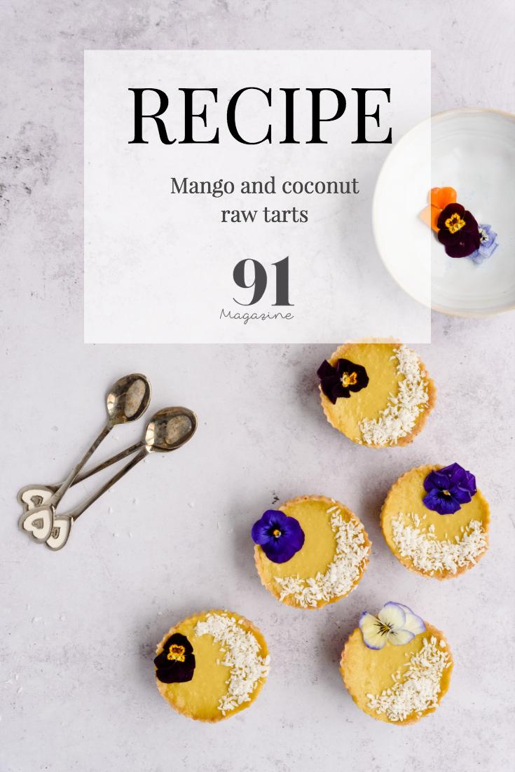 Mango and Coconut tarts RECIPE
