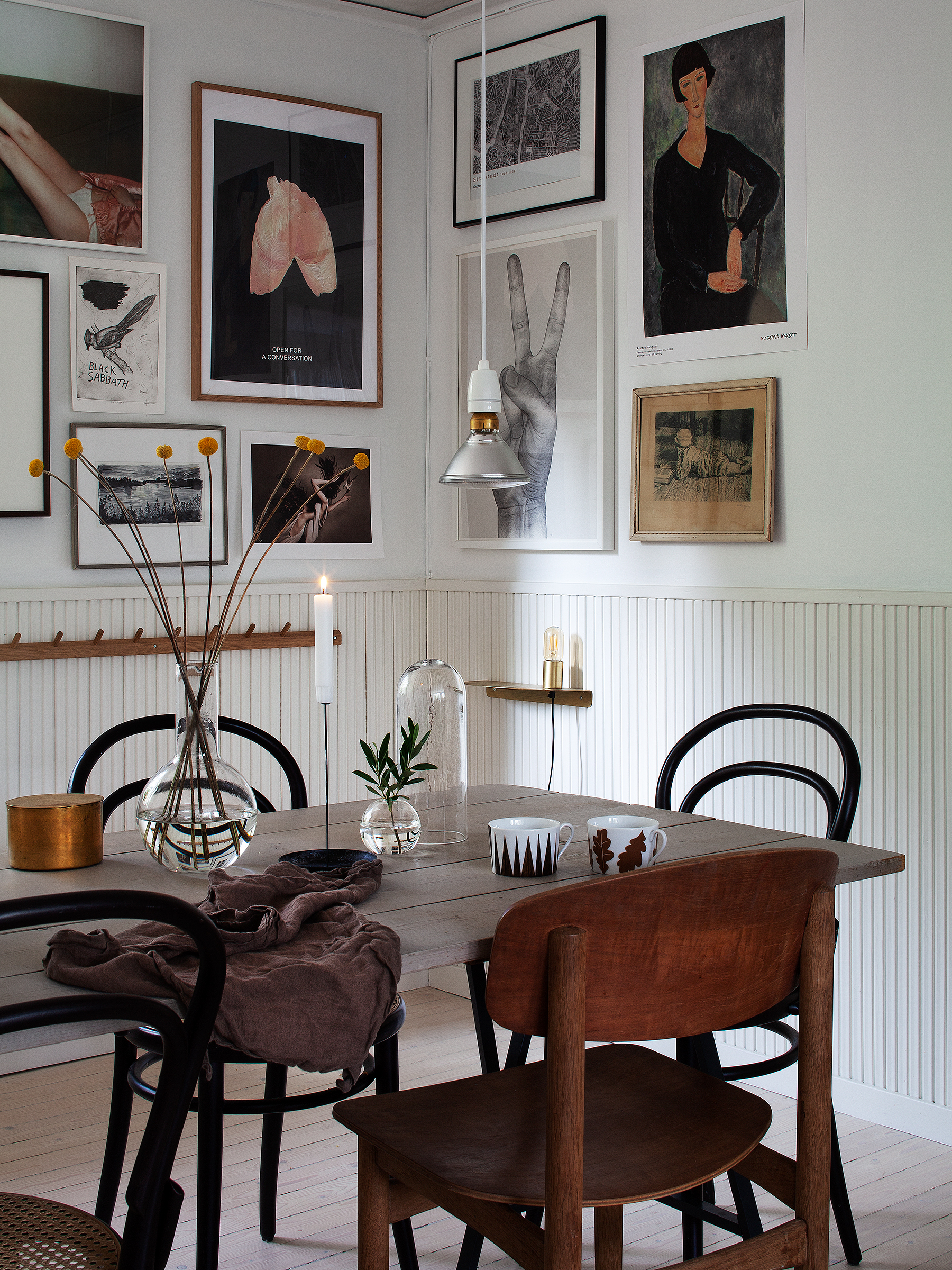 home tour with Janniche Bergstrom on 91 Magazine blog