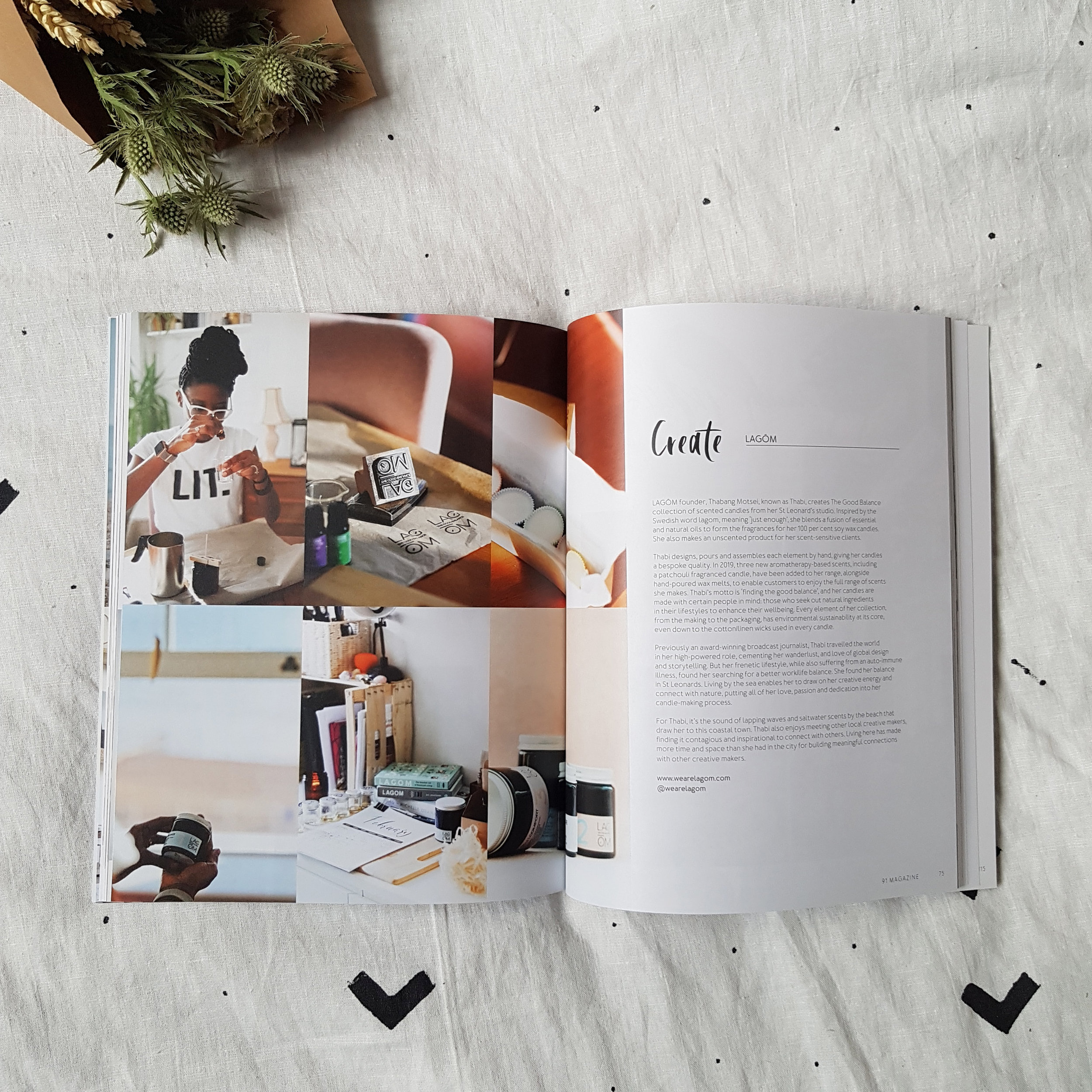 91 Magazine - independent interiors and lifestyle magazine - Volume 7