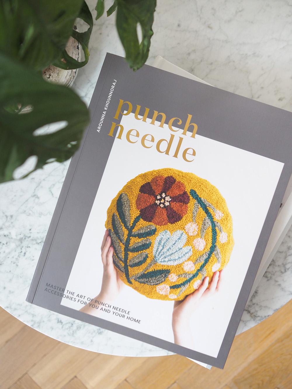 Punch Needle book by Arounna Khounnoraj