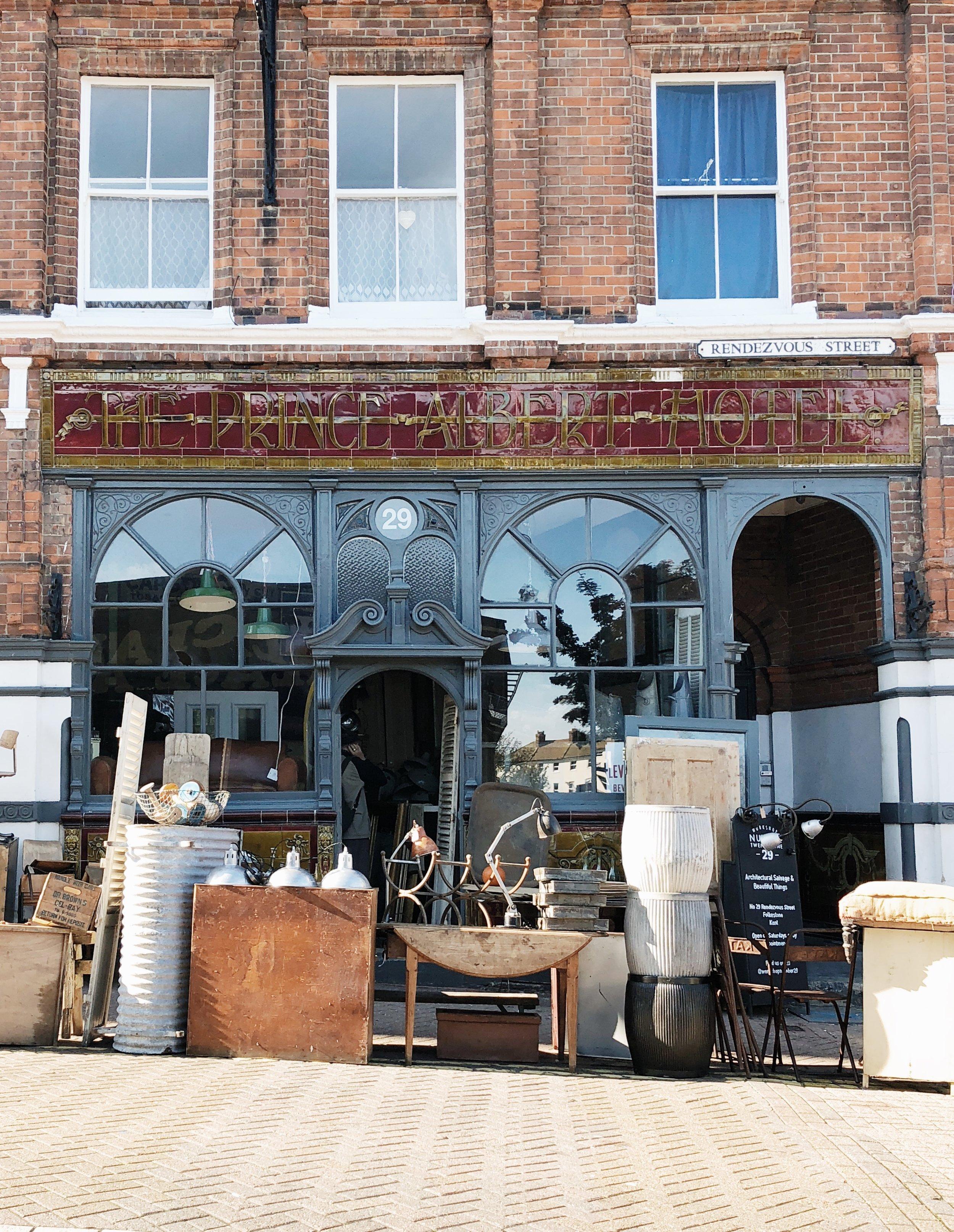 Workshop Number 29, Folkestone, Kent