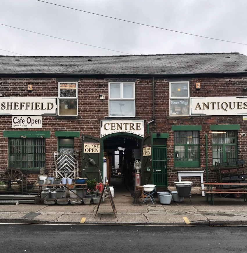 Sheffield antiques centre - Instagrammer's Guide to Sheffield by 91 Magazine