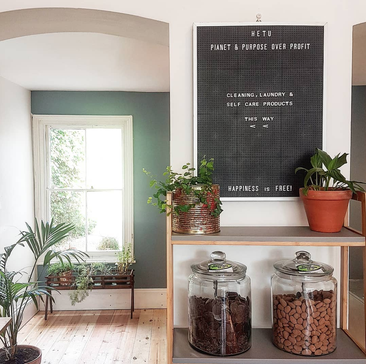 Hetu, zero waste food store, London