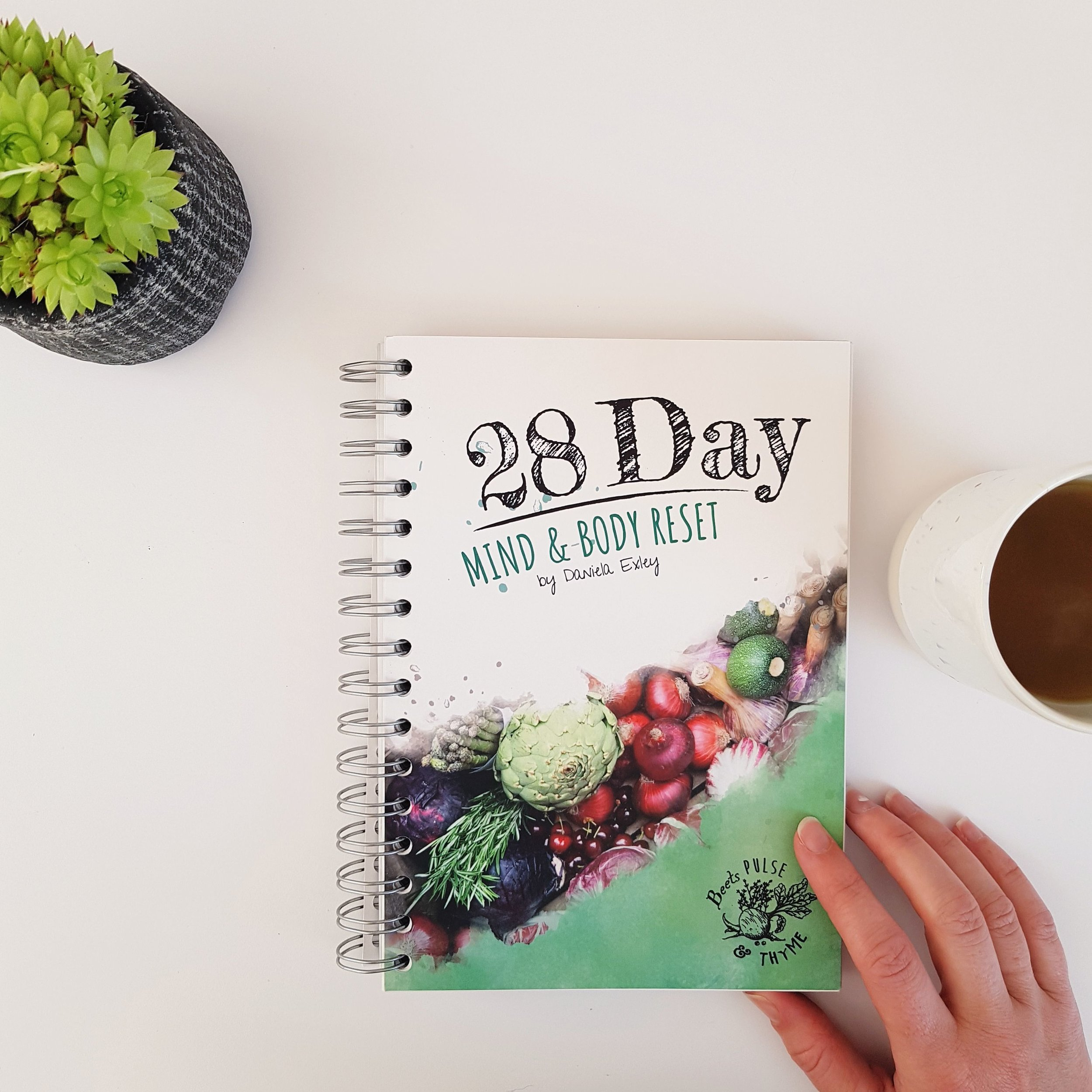28 day Mind & body reset book