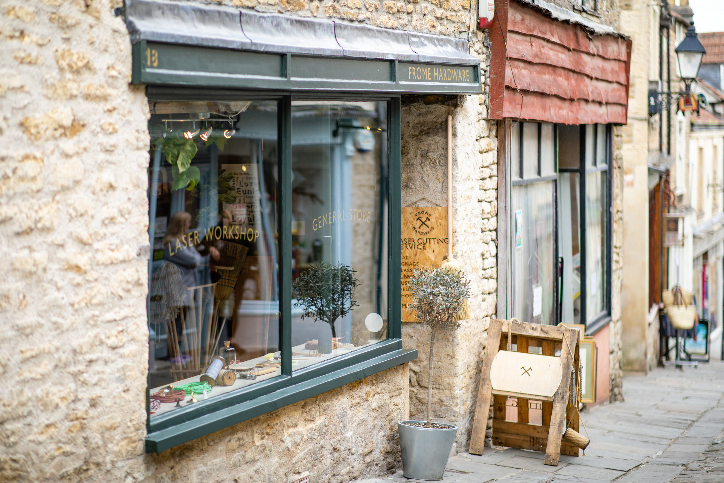 We will visit 3 gorgeous independent stores to meet the owners & shop -  Kobi & Teal ,  Frome Hardware  and  Resident