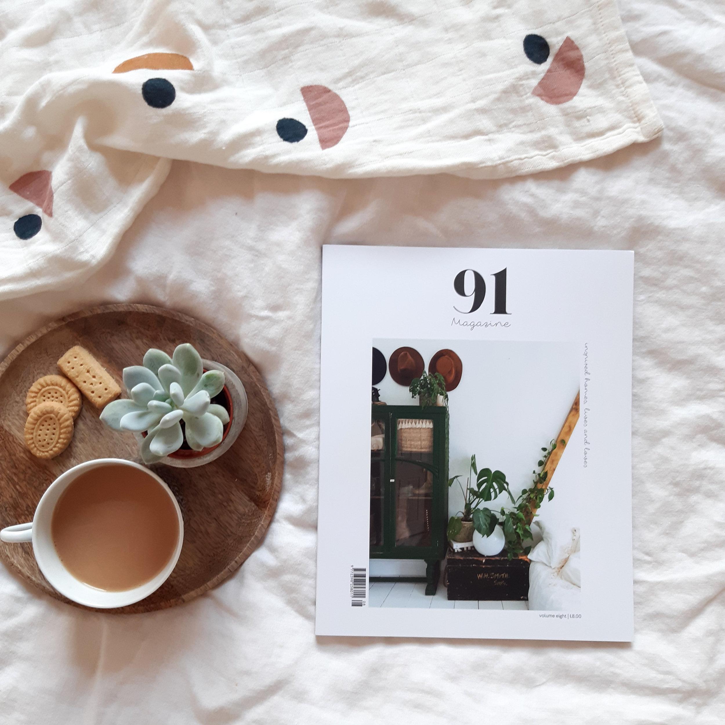 Volume 8 of 91 Magazine - publishes Oct 2019