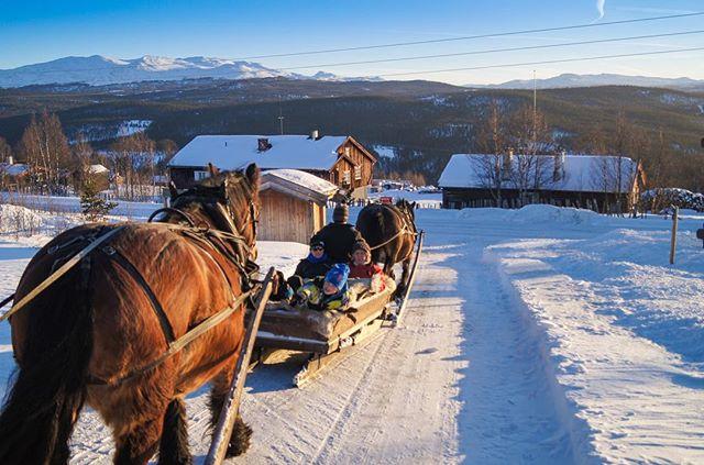 Vinteridyll fra Skåbu.