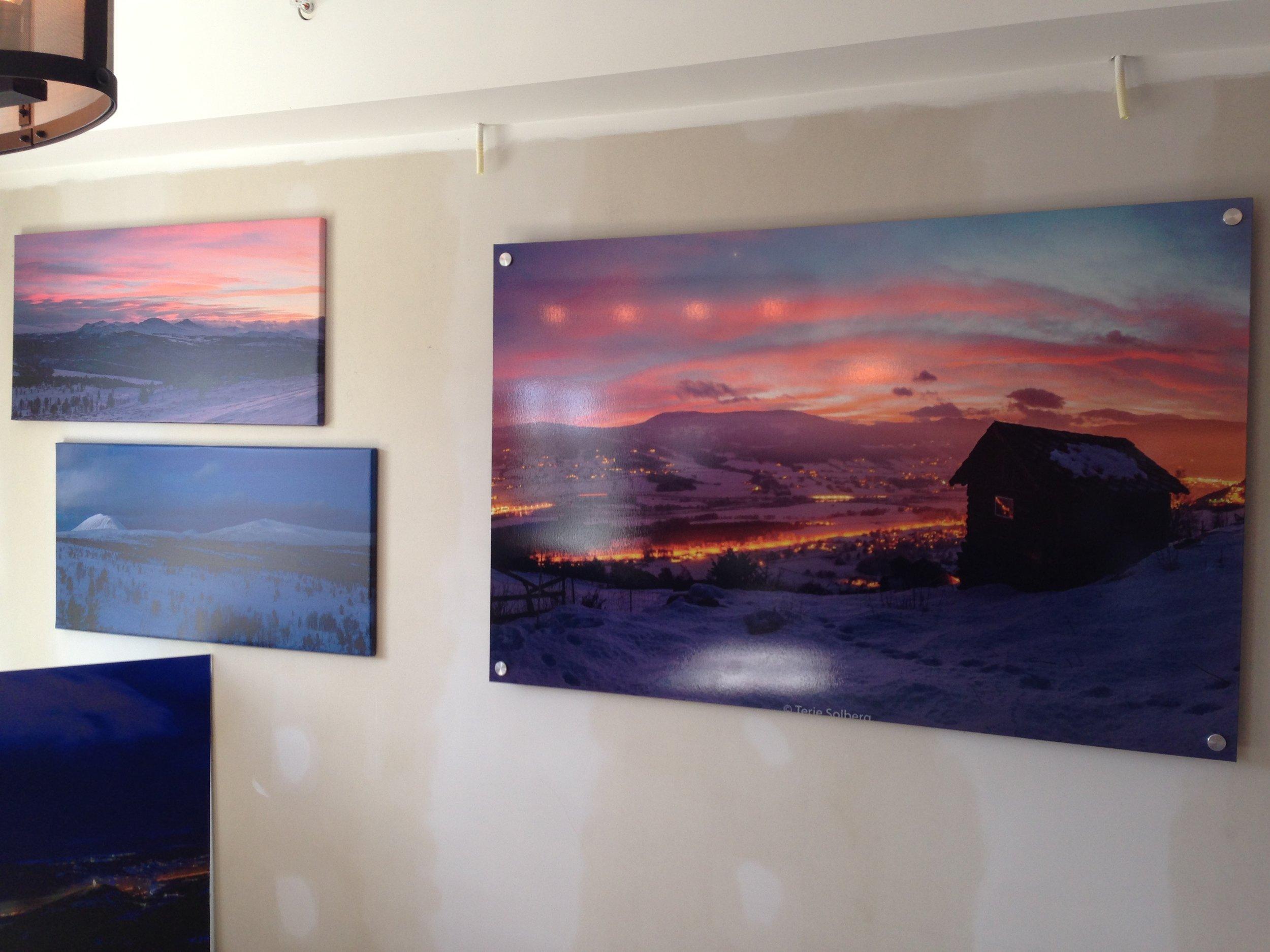Flotte fotografier med lokalt motiv av Terje Solberg.