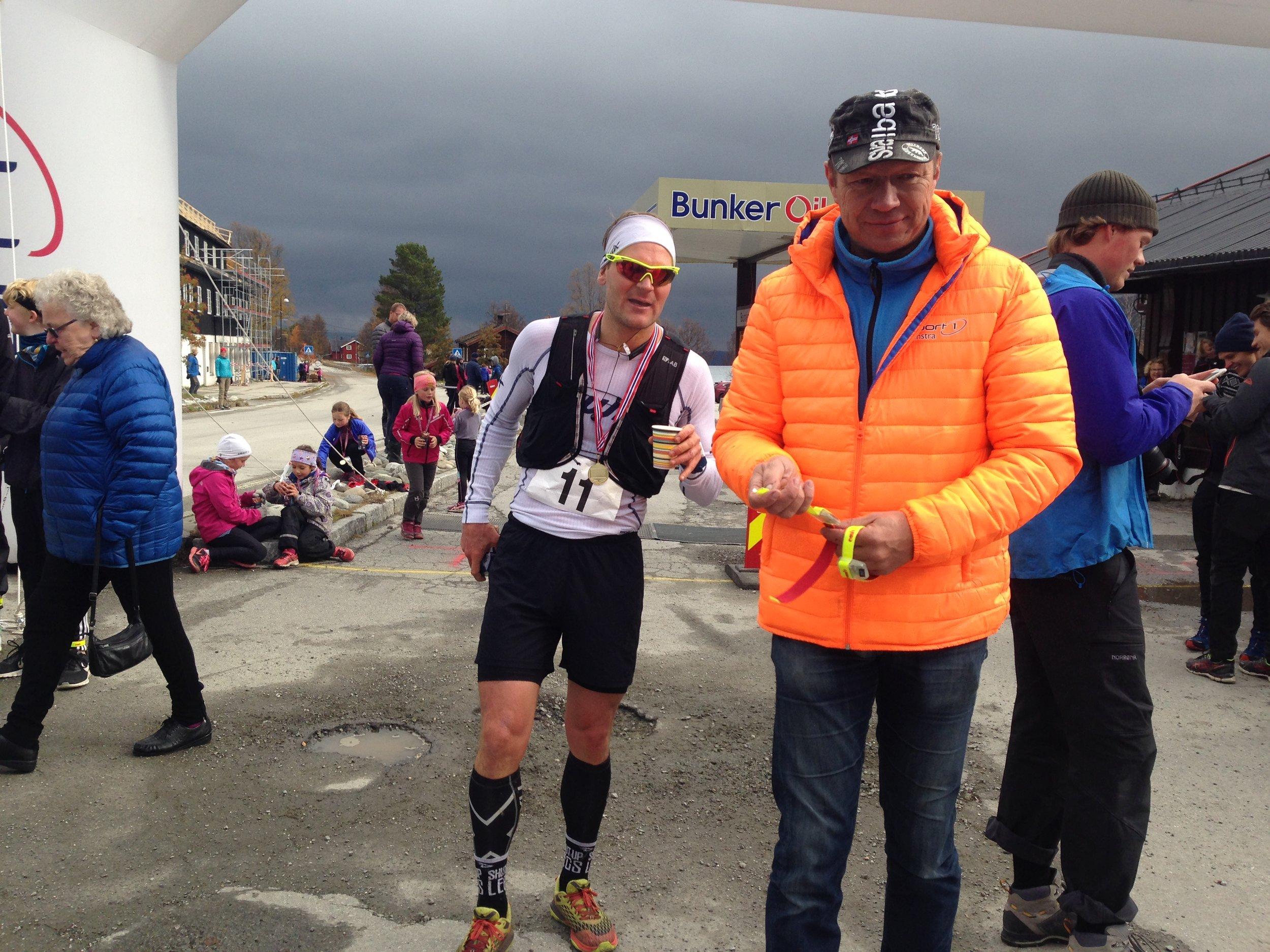 """Øystein """"Pølsa"""" Pettersen kan mere enn å gå på ski og gjorde en hederlig innsats på maraton."""