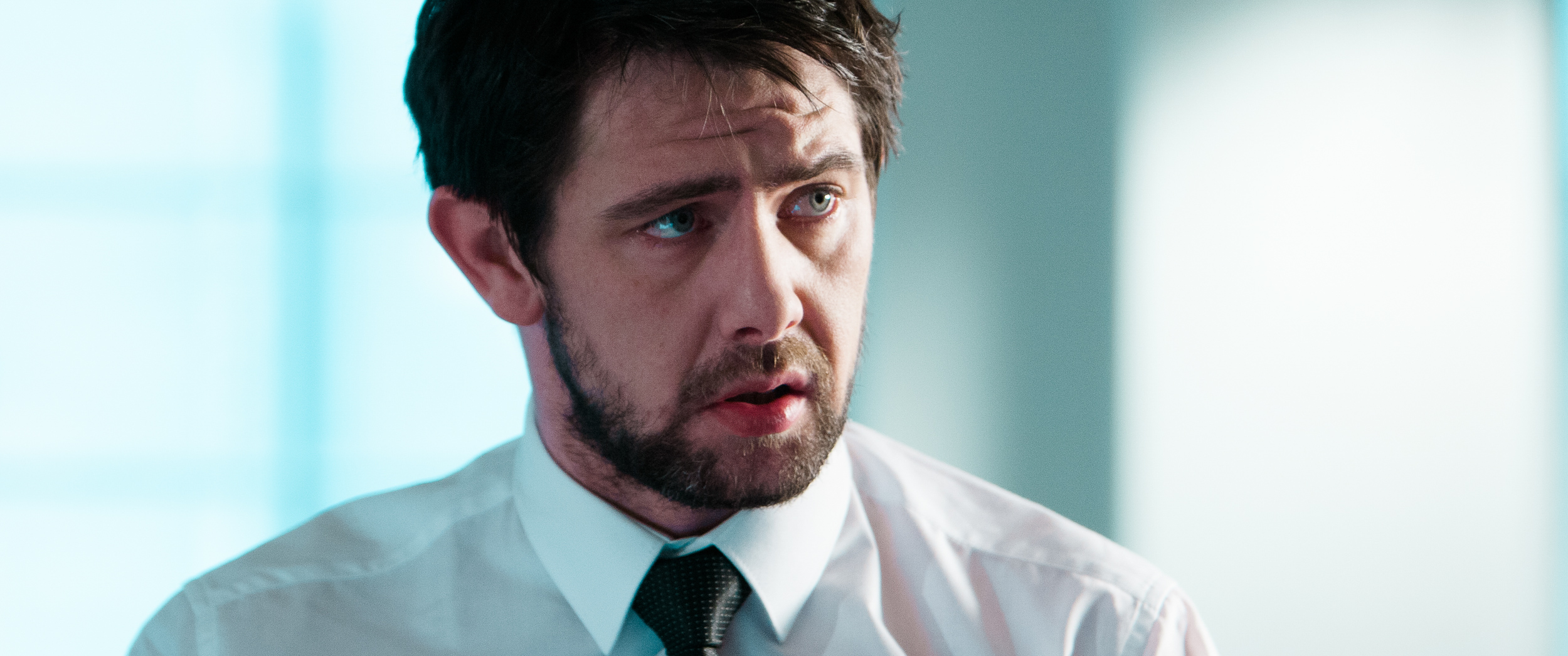 "Michael Ryan in the short film ""Mr Happy"""