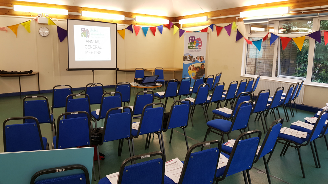 Large hall space available for hire, Bristol