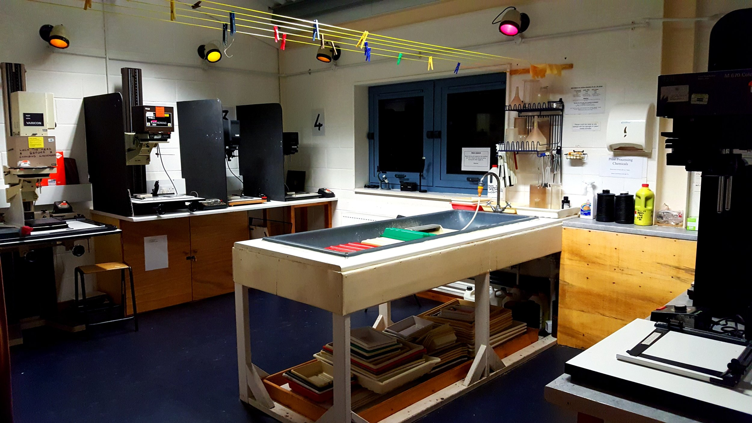 Darkroom facilities are now available for use on a sessional hire basis for individuals or groups in Bristol