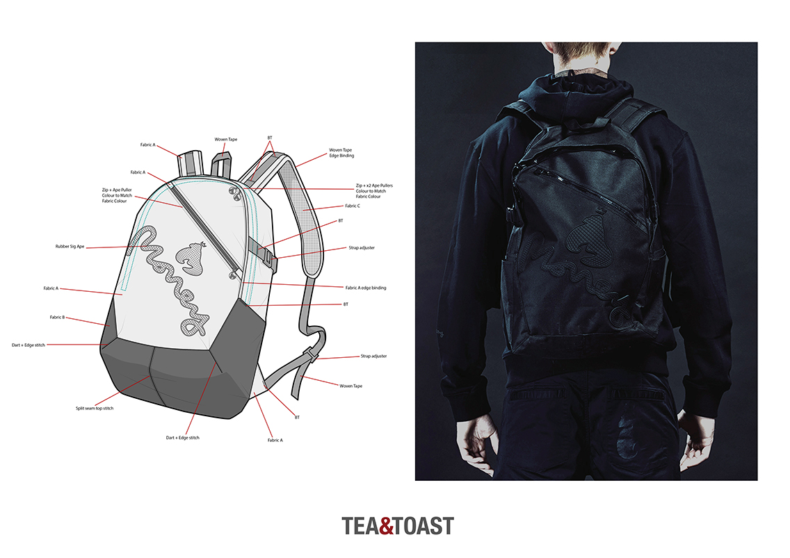 rucksack design / Clothes Designer