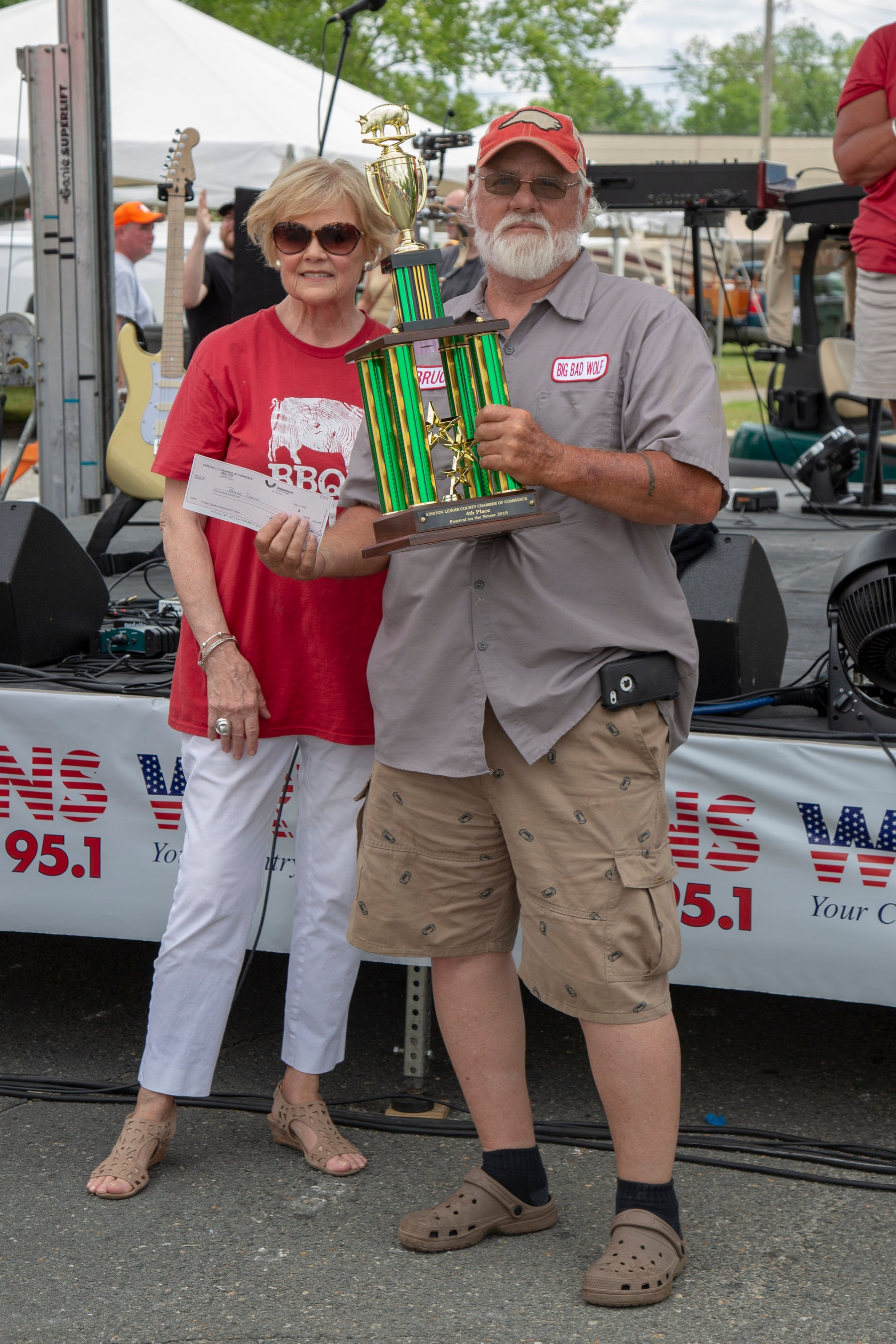 4th Place Team: Bruce Daniel, Big Bad Wolf Sponsor: First Flight Credit Union $100 and Trophy