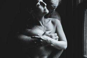 nude couples boudoir