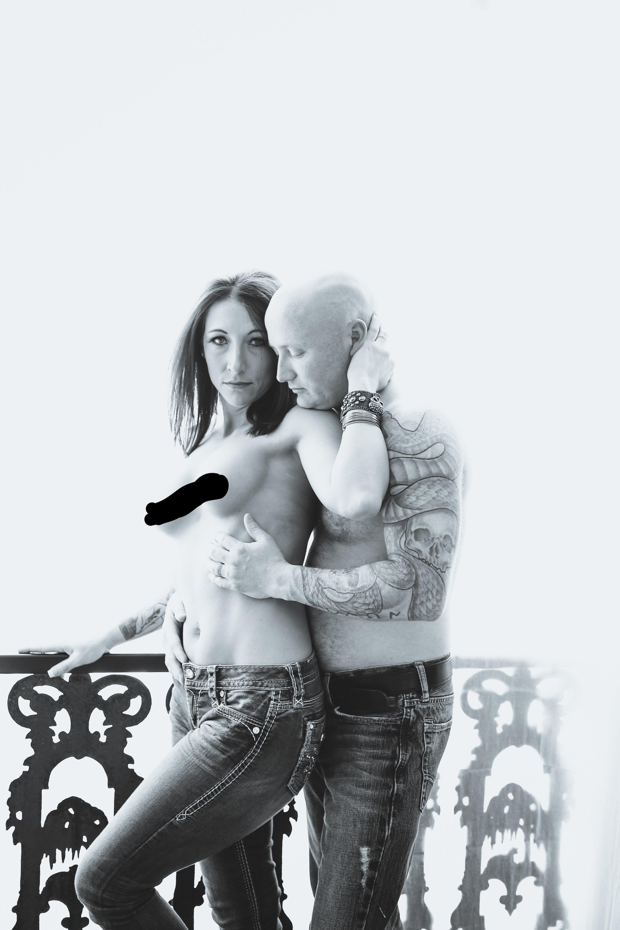 tattooed nude
