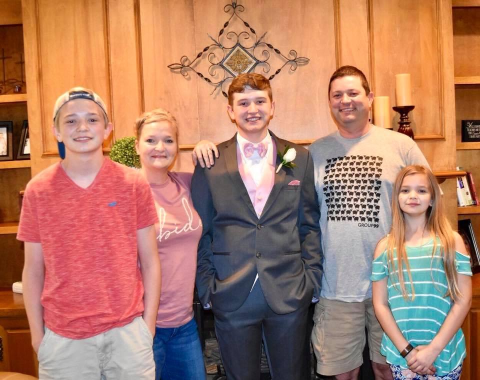 Preschool DirectorCrystal Hurst - with husband Jason, sons Waylon & Wyatt, daughter Whitley Ella
