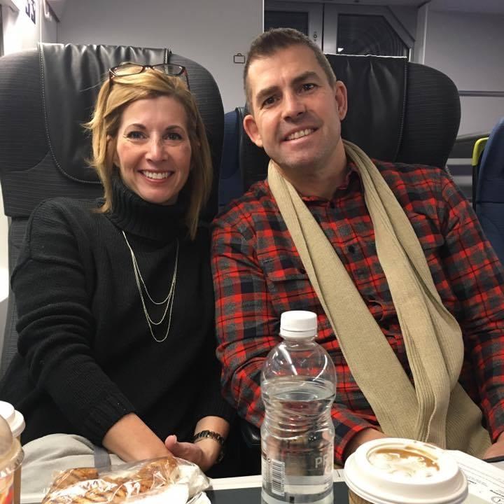 Richmond Campus Pastor Jon Barron - and wife Elaina