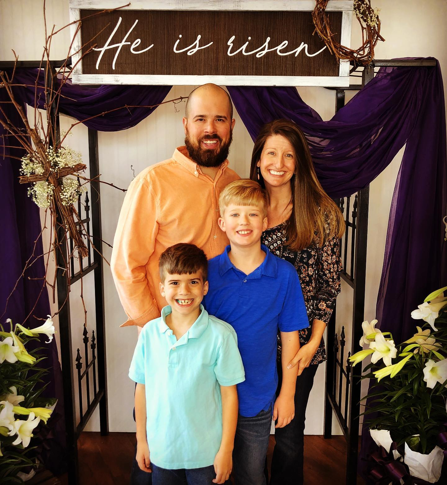 Student PastorDustin Rife - and his wife Kristen, and sons, Dylan and Dalton