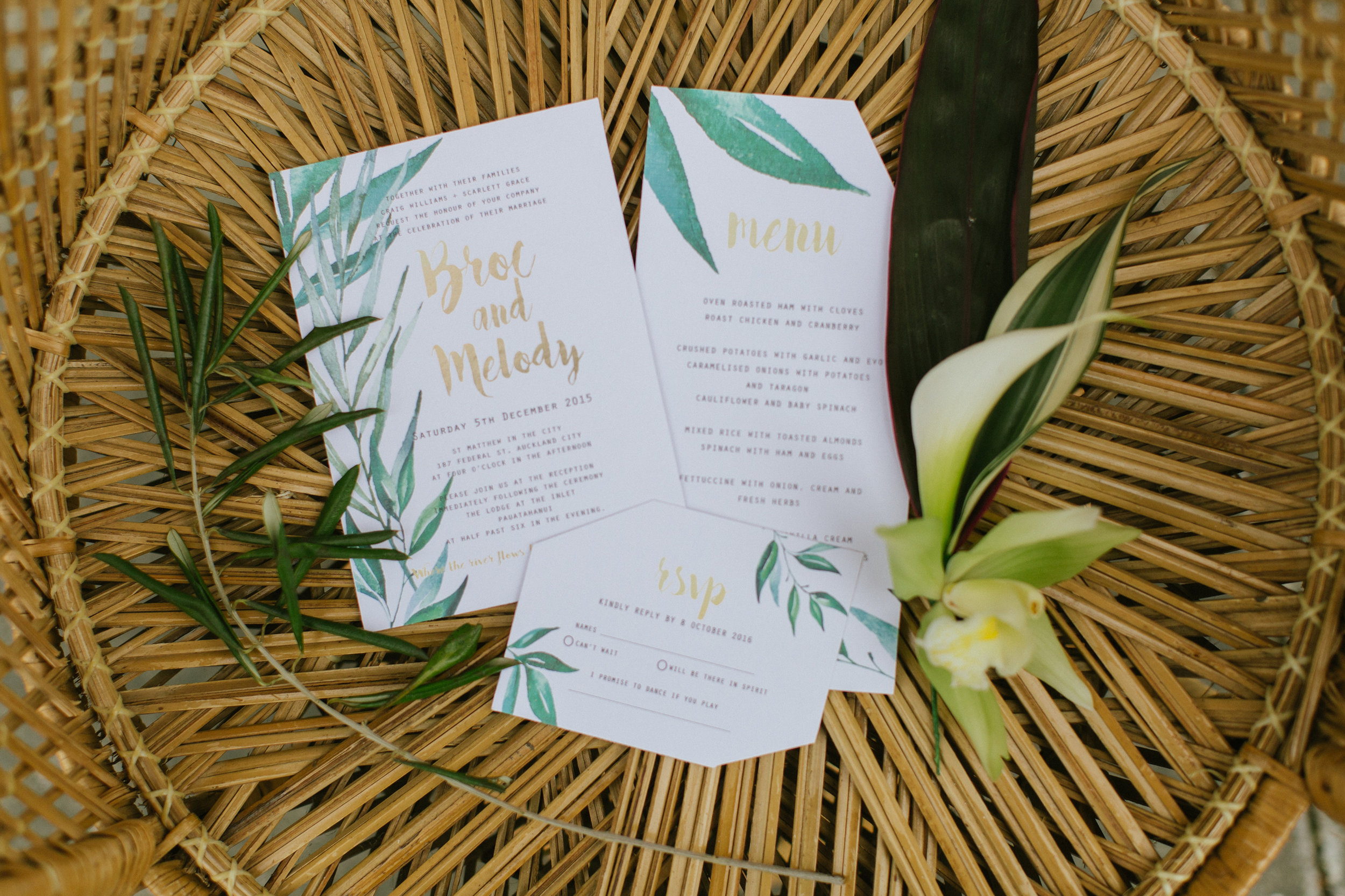 Tropical Wedding Photo Shoot Wellington NZ florist Woodryod Estate Protea Lily Rose White Geometric