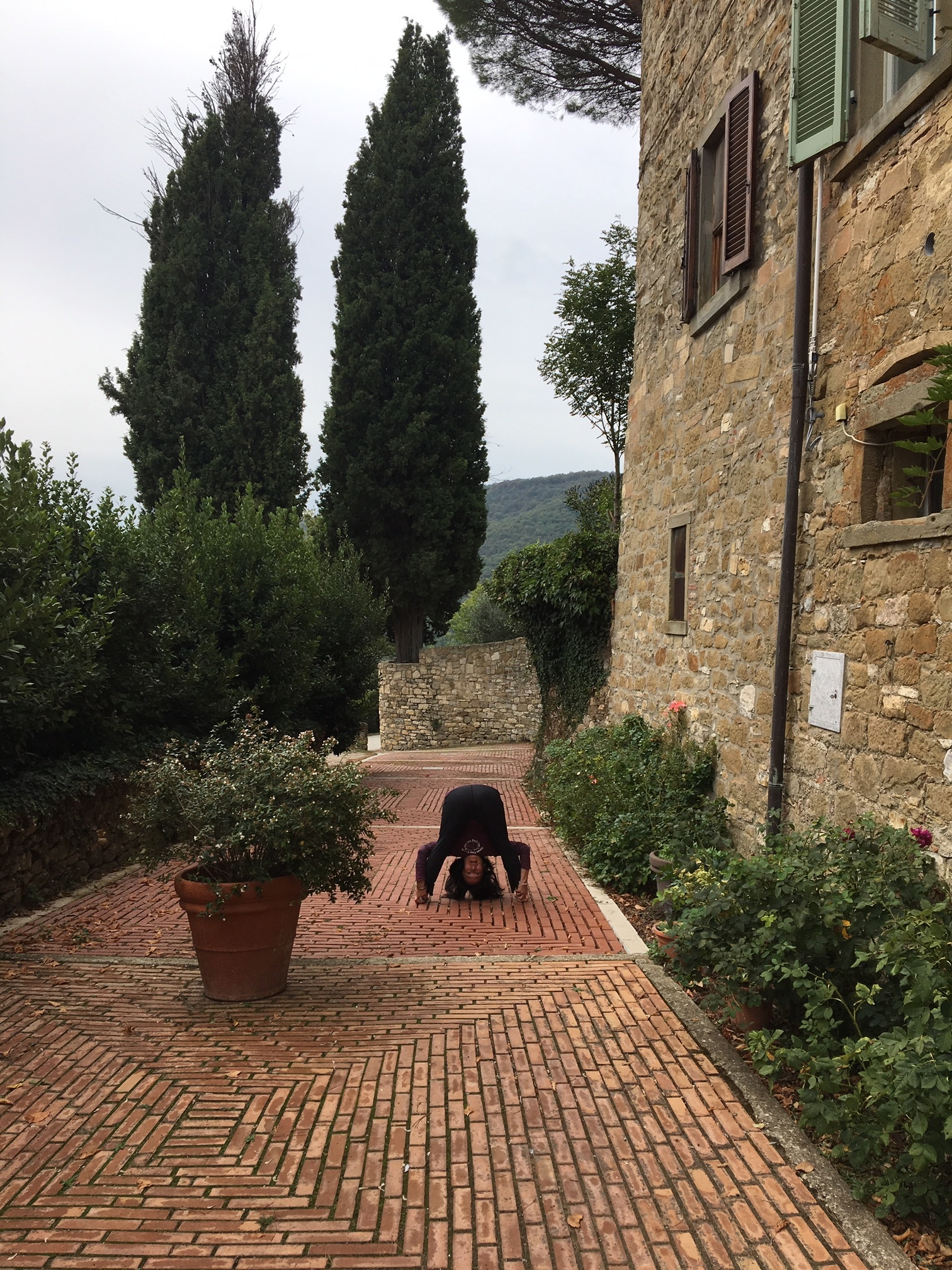 diana upside down 2018 italy retreat.JPG