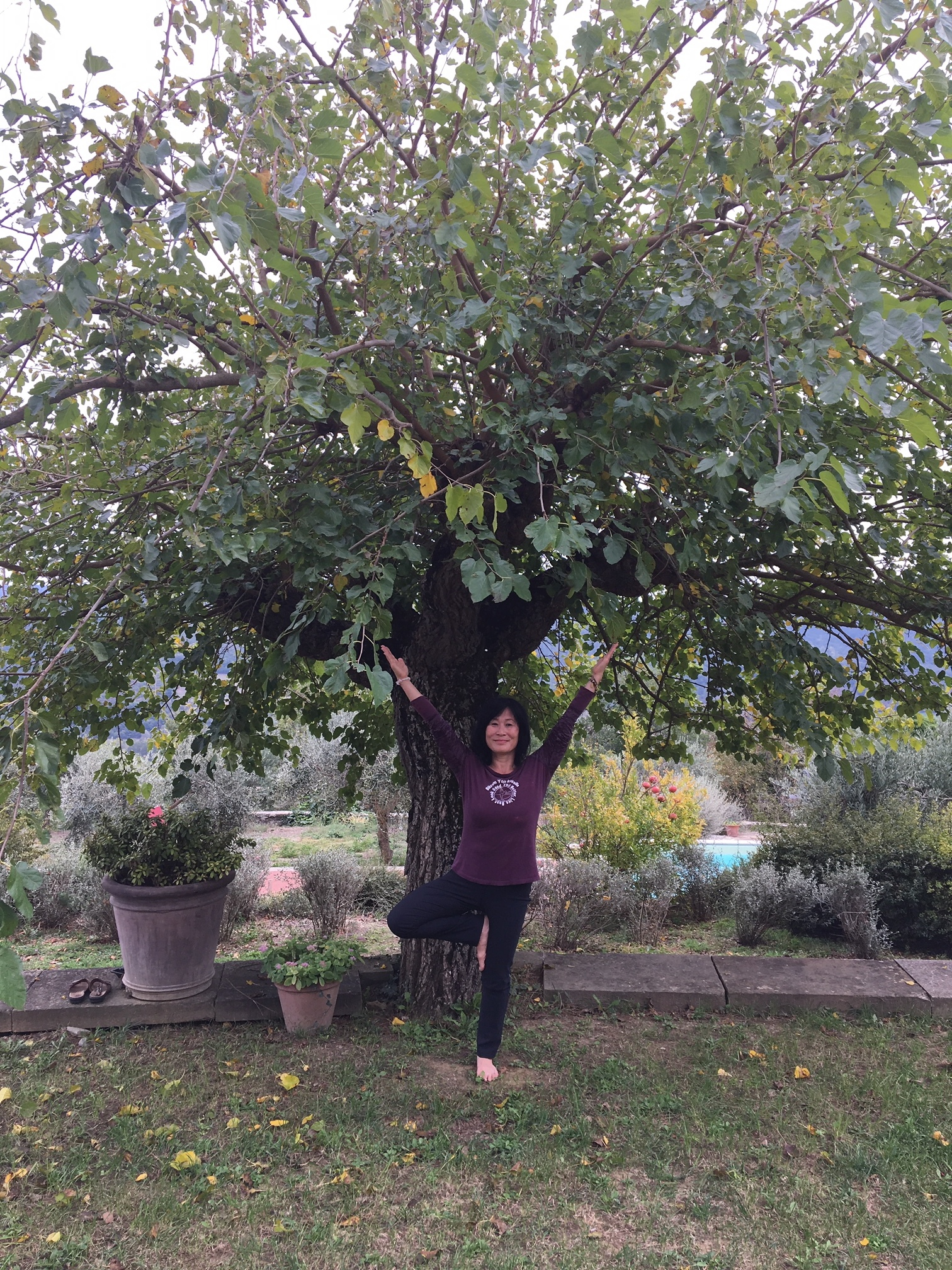 diana and tree 2018 italy retreat.JPG
