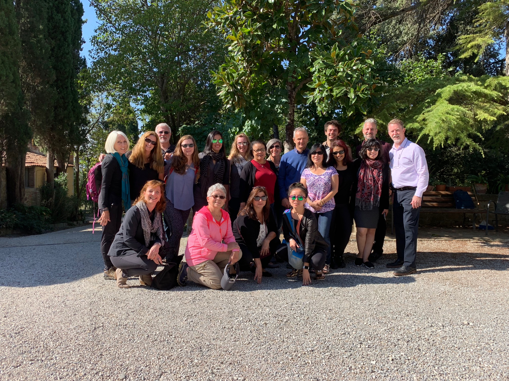 group photo vinyard 2018 italy retreat.jpg