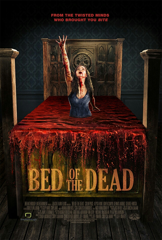 Four twentysomethings find themselves stuck on a haunted antique bed where leaving means suffering a gruesome death. Plagued with frightening hallucinations, they must figure out the bed's secrets before they are ultimately picked off one by one.