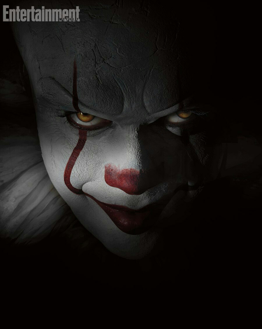 This Pennywise looks to be wearing his evil intentions on his sleeve.