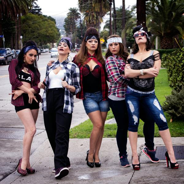 The concept of  Las Cholas is to showcase Los Angeles' most unique Scream Queens: Tiffany Shepis , Tonya Kay , Devanny Pinn ,and veteran actress  Eileen Dietz ( The Exorcist ). Philip Friedman ( Insidious) , Michelle Romano (producer), Ivan Sharudo (actor) and  Patricia Chica (director) also have a cameo in the short.