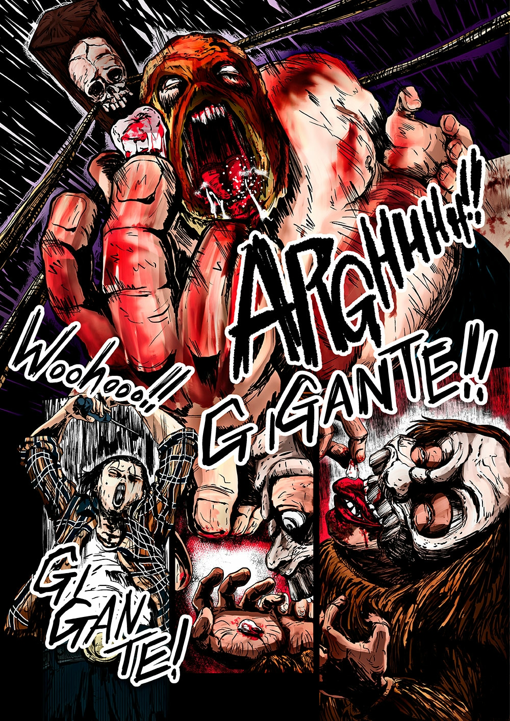 EL GIGANTE features some seriously stunning art work.