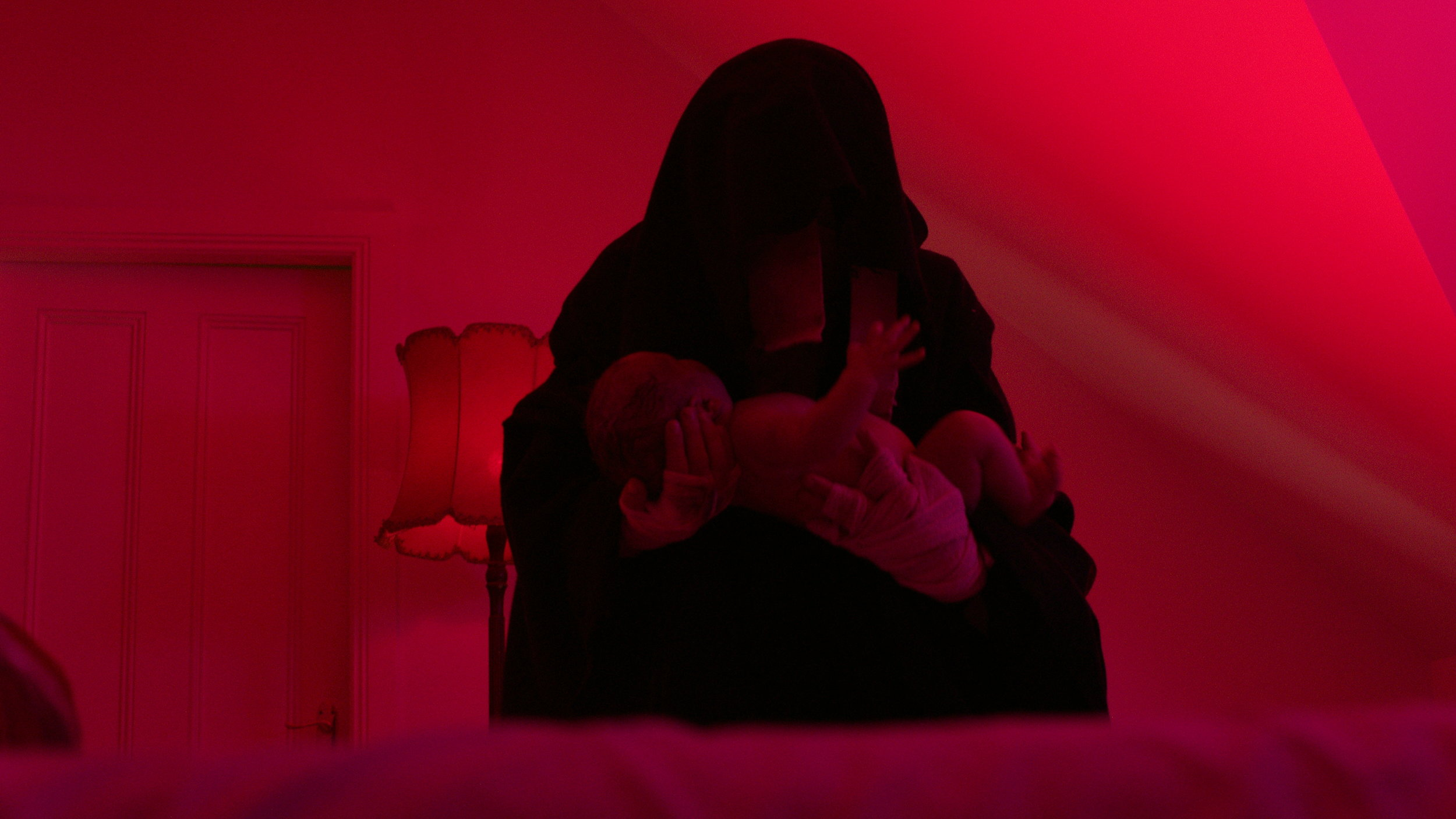 Cletus and baby - Red Christmas Photo by Douglas Burdorff.jpeg