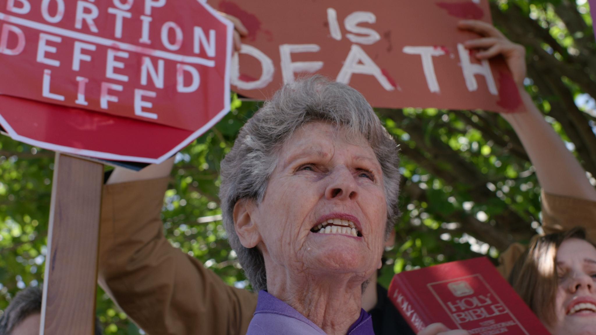 Abortion debate 01 - Red Christmas Photo by Douglas Burdorff.jpeg