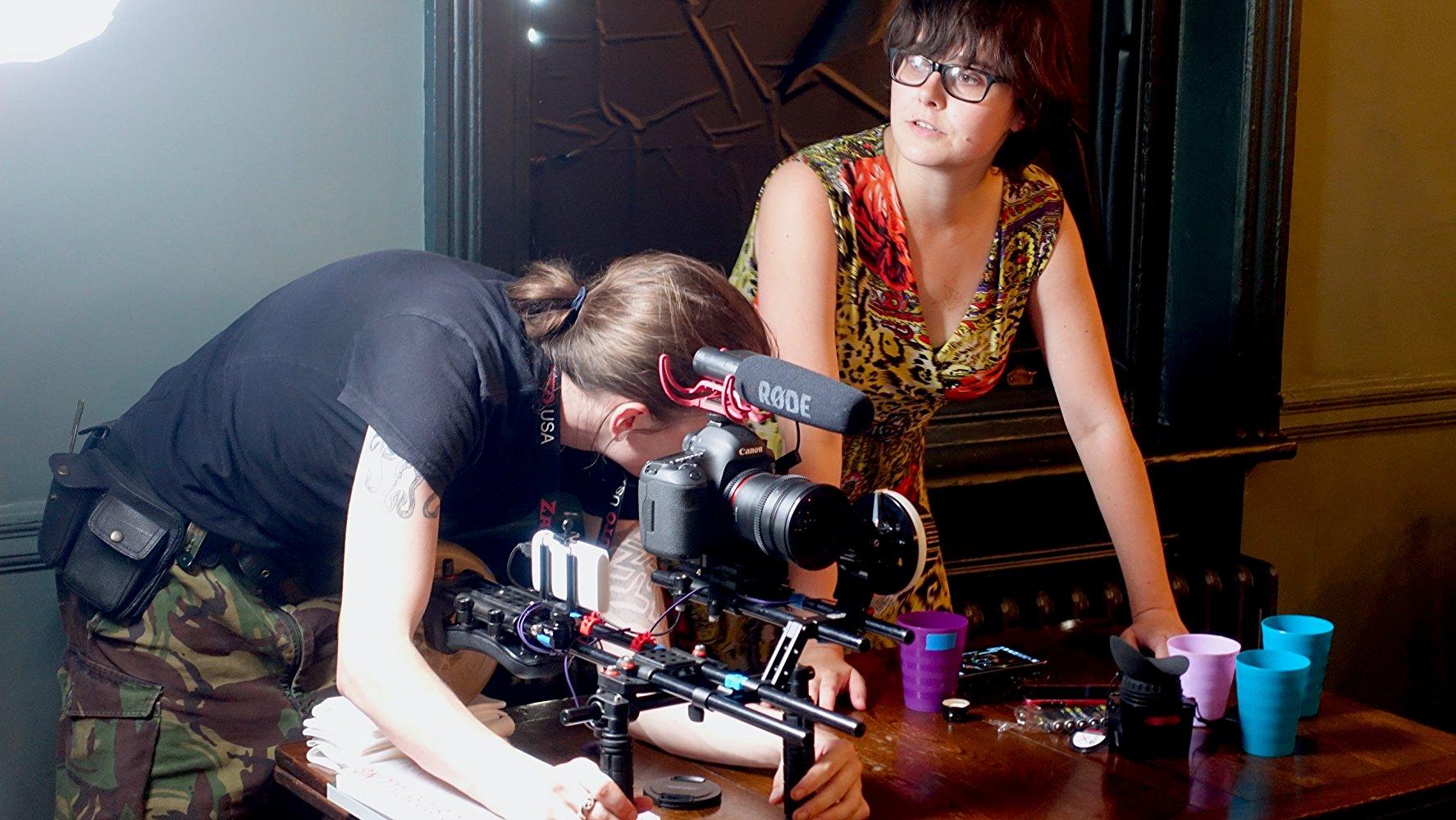 On the set of Egomaniac