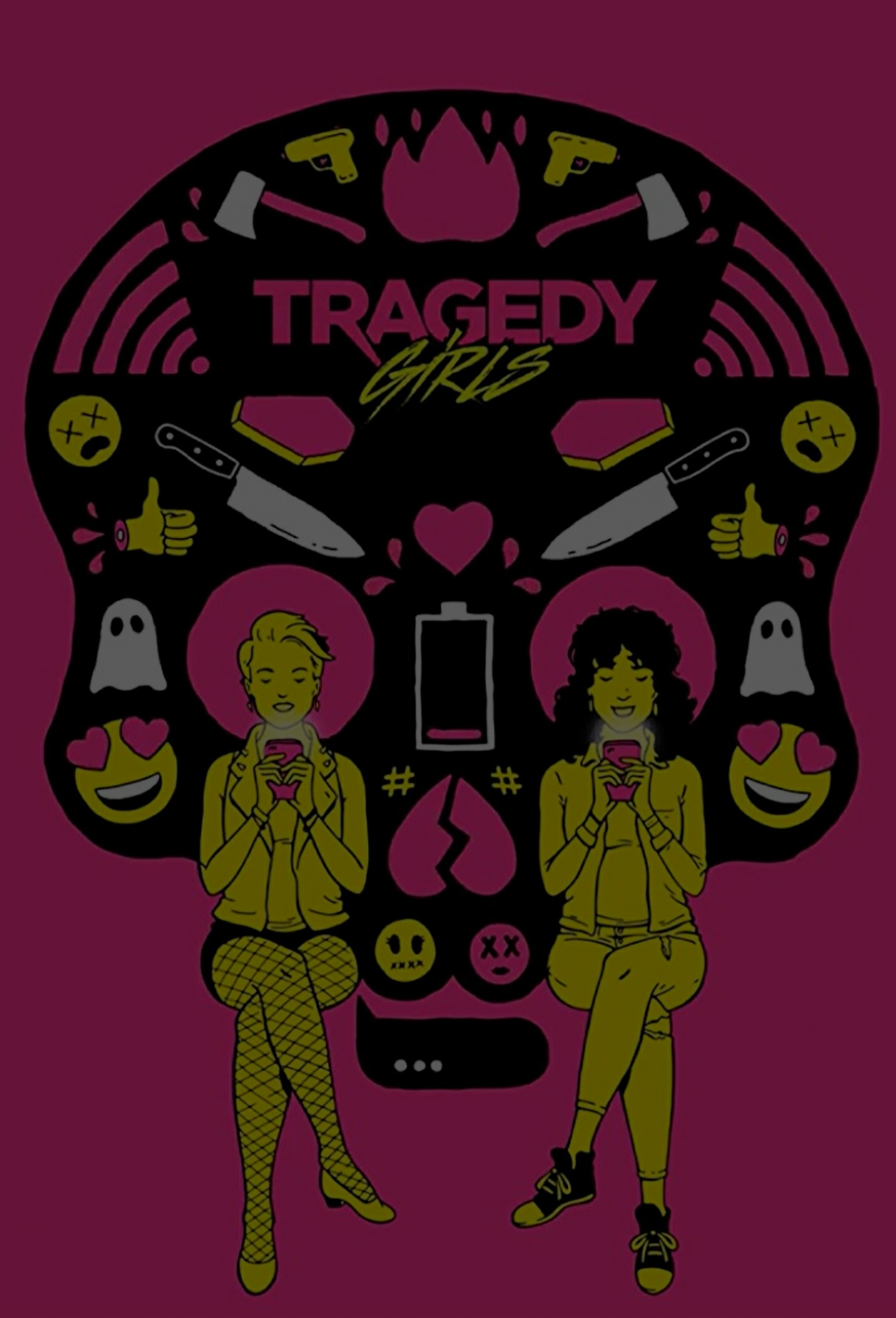 TRAGEDY GIRLS -     Director:Tyler MacIntyreWriters:Chris Lee Hill, Tyler MacIntyre | 1 more credit »Stars:Josh Hutcherson, Brianna Hildebrand, Kevin Durand