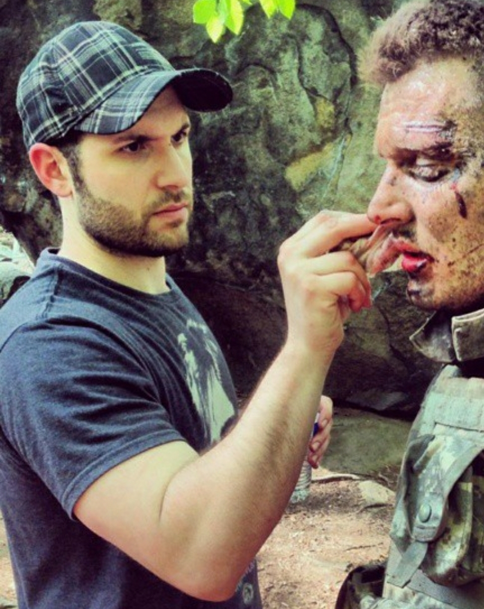 DAMIEN LEONE - We love practical effects, especially in horror films. Any horror fan would tell you, nothing takes you out of one more than stock CG gore effects. Unfortunately given the budget of most smaller independent horror films, compromising on this particular aspect of production is a hard reality. Unless your name is Damien Leone. Then you just get better at working around this limitation, delivering results that rival horror films with budgets multiple times the size. He's quite the phenom, and his talent is what makes Terrifier a very hard film to get through without squinting...