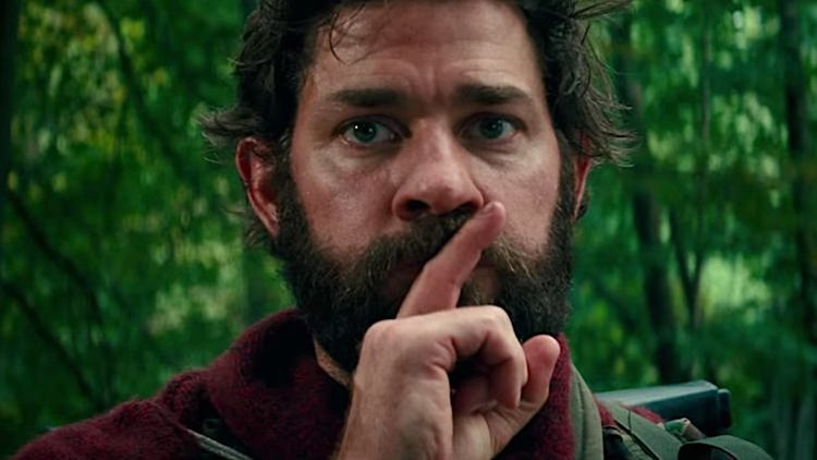 A QUIET PLACE - A family is forced to live in silence while hiding from creatures that hunt by sound.Director:John KrasinskiWriters:Bryan Woods(screenplay by),Scott Beck(screenplay by) 3 more credits»Stars:Emily Blunt,John Krasinski,Millicent Simmonds