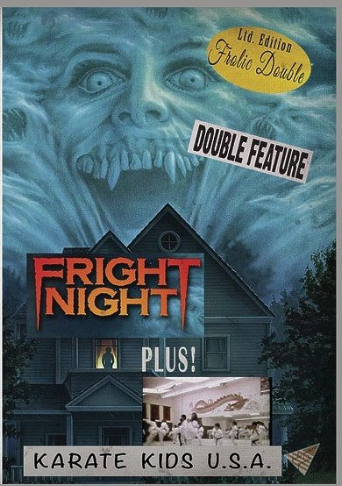 PRESS RELEASE - Frolic Pictures'new grindhouse double feature DVDs released with free prizes!Blood Freak! Hollywood Man! Fright Night and more! The next wave of Frolic Pictures' new limited edition grindhouse series double feature DVDs are now available online wherever DVDs are sold (Amazon, Barnes & Noble, Best Buy, etc.) Hand-selected by Hollywood exploitation filmmaker Jared Masters. A sordid combination of old school horror, vintage black comedies and juicy exploitation fare. Each DVD is a one-of-a-kind experience, like going to a drive-in back in the day, except in the comfort of your own home.Each DVD is approximately three hours of shocking, bizarre, and tantalizing entertainment from a bygone era. Packed with cinematic surprises like short subjects, trailers, vintage TV commercials and intermission cartoons.Digitally scanned from the original 35mm film prints! Be thrilled and pleasantly surprised with what the Maestro reveals across your screen. Screen at parties, make a double feature night with other cinephile friends, or simply enjoy them alone, as you turn on, tune in and drop out of your semi-important responsibilities.Just pop the DVD in and let it play, thanks to Frolic's clever auto-starting video discs. It's like there's a projectionist grinding out rare film prints for you at your leisure. Whether you've been to a real grindhouse in the 70s or 80s, or you're discovering the sensation for the first time, these limited edition Frolic Doubles make the perfect show for the avid horror, cult, erotica and exploitation cinema fan.LATEST FROLIC DOUBLES RELEASED ON DVD:Carnival of Souls / Spider BabySanta Claus Vs. The Devil / A Christmas Without Snow Hollywood Man / Maybe I'll Come Home in the SpringFright Night / Karate Kids USAAttack of The Monsters / Creature of DestructionScream Bloody Murder / Track of the Moon BeastBlood Freak / The PyxGet Christie Love / Children of the NightJoshua / The SwapAll the Kind Strangers / Savage WeekendThe Lazarus Syndrom