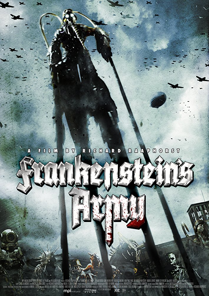- Things you will not find in Frankenstein's Army:-Ouija Boards-Ghosts-Demons-Sheets being ripped off of sleeping protagonists-Doors Slamming-Doors Bursting Open-Possessed Kids-Possessed SpousesThings you get in Frankenstein's Army:-A secret nazi lab-Dr. Frankenstein's Journal-Said journal being used to create crazy super monsters out of dead nazi solider parts.-Fun practical fx-A brain scene that gives Hannibal a run for its money.If you dig found footage flicks, and want something fun...Have some friends over, drown them in alcoholic beverages, and throw on Frankenstein's Army.
