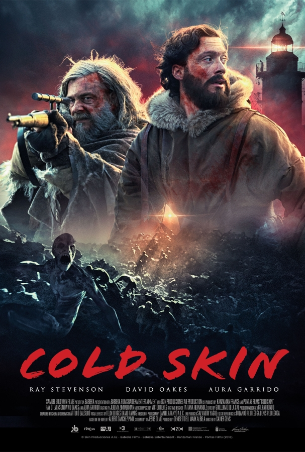 SYNOPSIS - On a remote island in the Antarctic circle, a young man finds himself trapped in a battle for his life against nightly invasions of unknown creatures that emerge from the ocean. Director: Xavier Gens. Writers: Albert Sánchez Piñol, Jesus Olo and Eron Sheean. Cast: Ray Stevenson, David Oakes, & Aura Garrido.