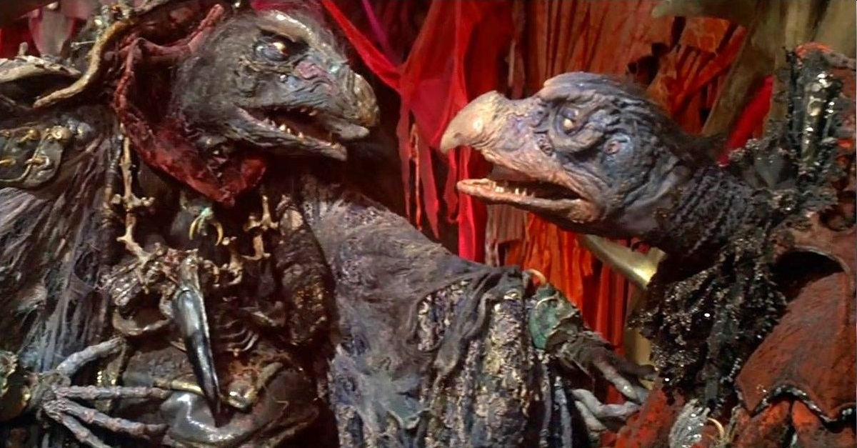 The Dark Crystal (among others) stands as an inspiration to Sechler's work. We can totally see it.