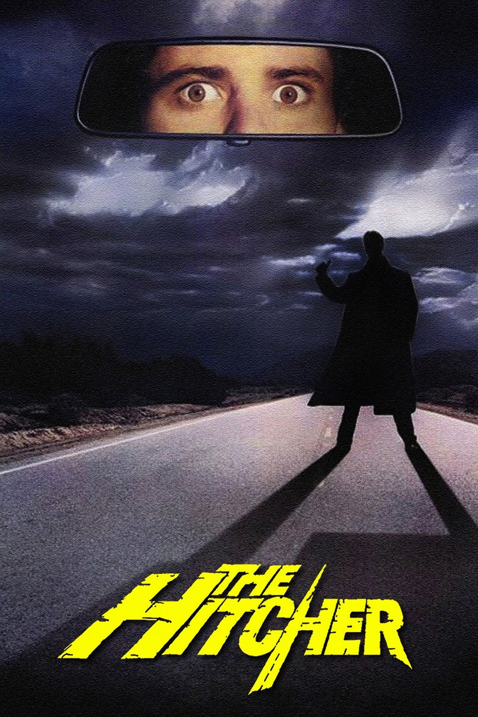 While transporting a car from Chicago to San Diego, Jim Halsey (C. Thomas Howell) picks up a hitchhiker named John Ryder (Rutger Hauer), who claims to be a serial killer. After a daring escape, Jim hopes to never see Ryder again. But when he witnesses the hitchhiker murdering an entire family, Jim pursues Ryder with the help of truck-stop waitress Nash (Jennifer Jason Leigh), pitting the rivals against each other in a deadly series of car chases and brutal murders.