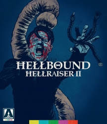 - Hellbound: Hellraiser IIHaving escaped the clutches of Pinhead and the demonic Cenobites, Kirsty Cotton (Ashley Laurence) awakens to finds herself detained at the Channard Institute, a hospital for the mentally ill. But her torments are far from over - the chief doctor at the institute is determined to unleash the powers of Hell to achieve his own twisted ends.BLU-RAYSKU: AV237UPC: 760137291084SRP: 39.95Street Date: 09/24/19PreBook Date: 08/20/19Label: Arrow VideoGenre: HorrorLanguage: EnglishRun Time: 99 mins High-res Cover Art (JPG)