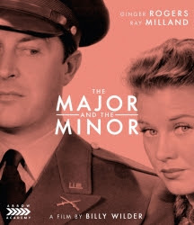 - The Major And The MinorLegendary actress and dancer Ginger Rogers stars as Susan Applegate, a struggling young woman who pretends to be an 11-year old girl in order to buy a half-price train ticket. Fleeing the conductors, she hides in the compartment of Major Philip Kirby. When they arrive at the military academy where Kirby teaches, his fiancée grows suspicious of Susan's ruse...BLU-RAYSKU: AA051UPC: 760137280187SRP: 39.95Street Date: 09/24/19PreBook Date: 08/20/19Label: Arrow AcademyGenre: ComedyLanguage: EnglishRun Time: 100 mins High-res Cover Art (JPG)
