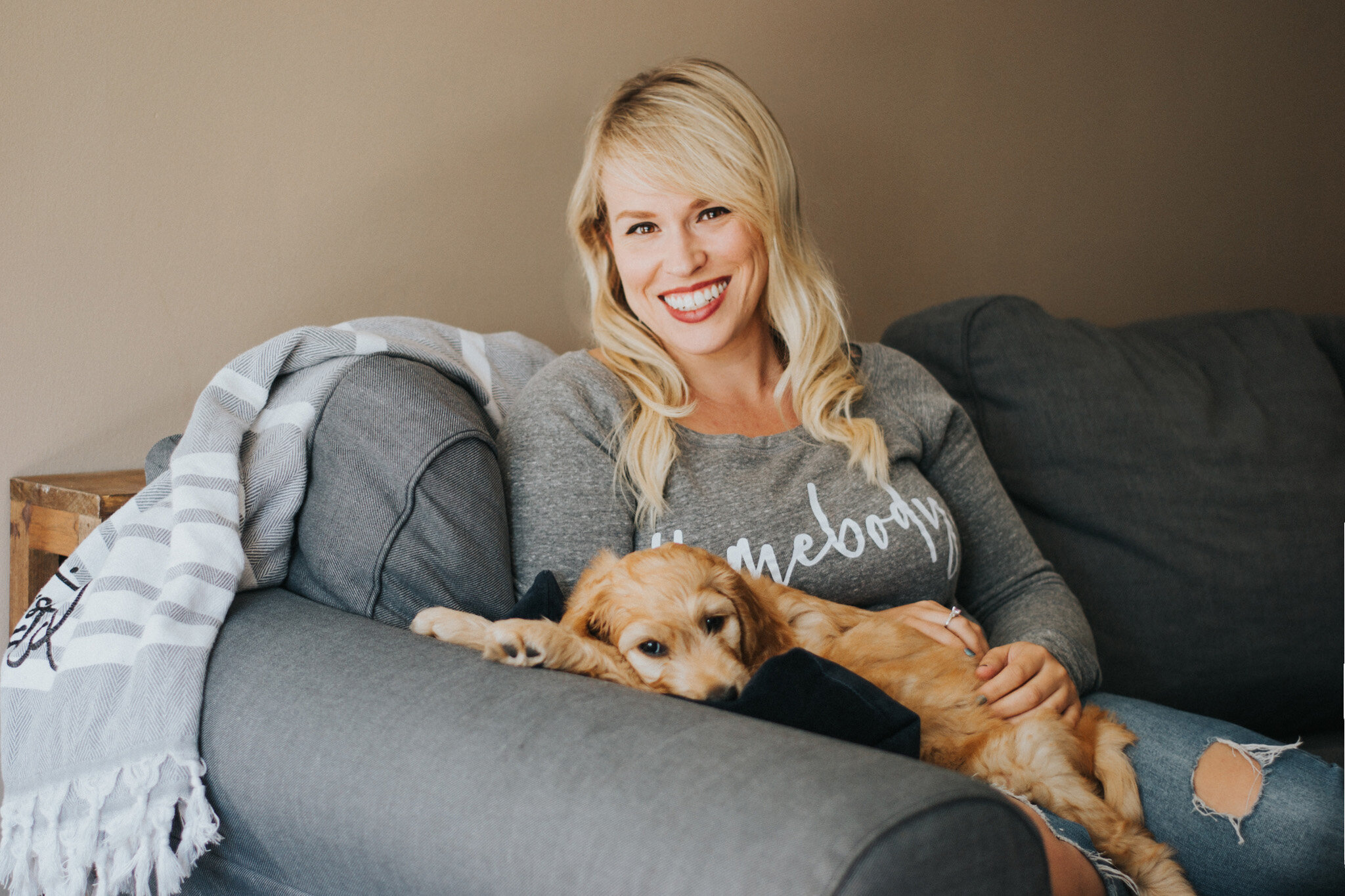 Beth is an Award Winning Graphic Designer and Small Business Supporter   When she isn't creating something beautiful, she is spending time with her two kids, her pup, and her boyfriend, or exploring somewhere new.