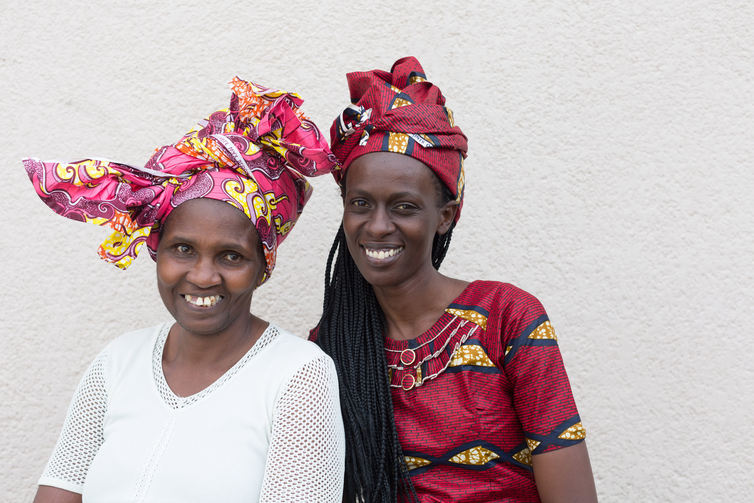 Marie Claire Umurewa and Olive Muhawenimana, Lead Counselor