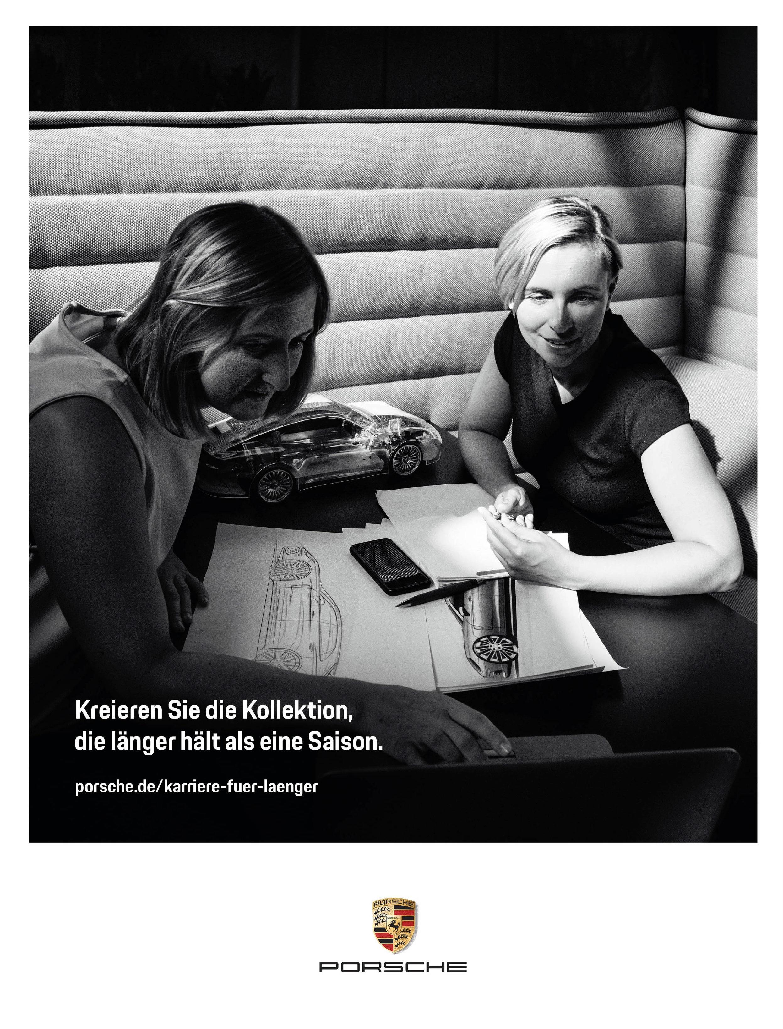 Porsche x German Vogue