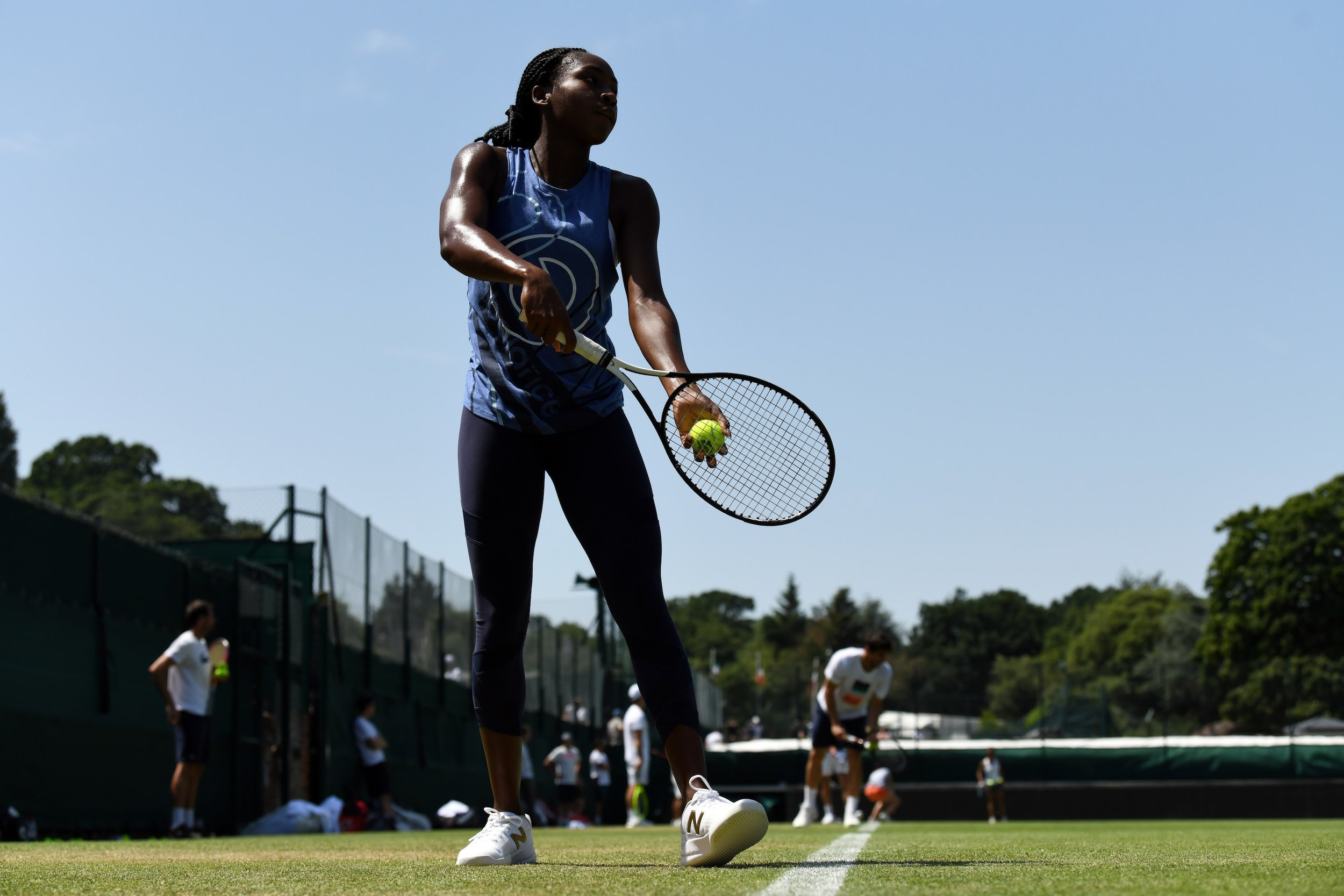 Coco Gauff x Wimbledon