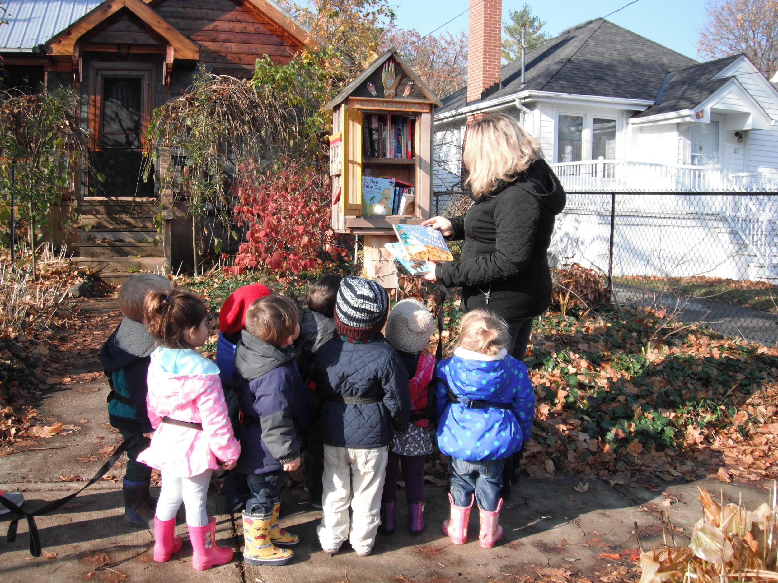 Exploring neighbourhoods