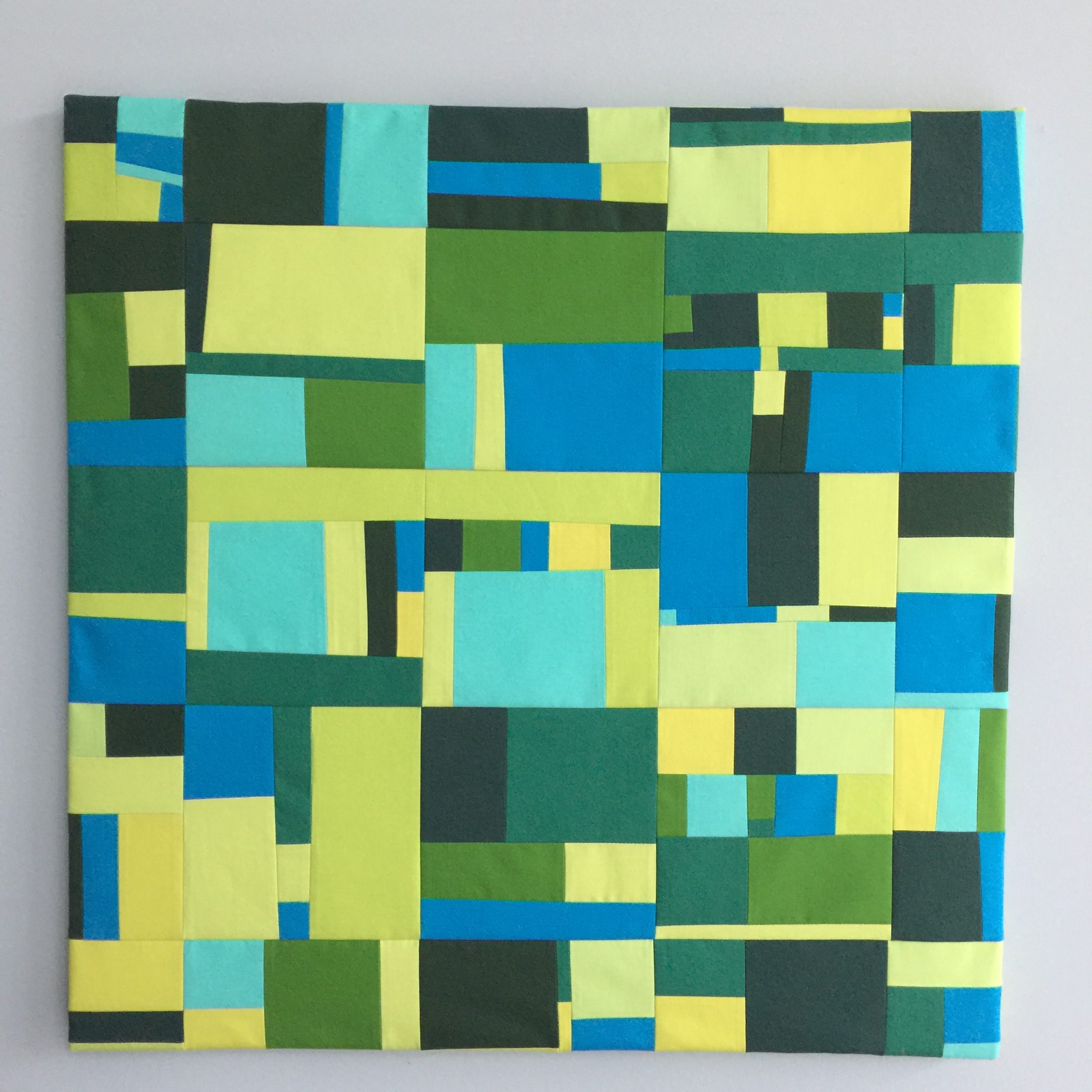 My favorite of 2017. Forest, December 2017.  This piece includes twenty-five 6 inch daily squares  from the Every Day Project, Days 201 through 225 of 2017. The Forest series was created every day from August 27-September 29, 2017.